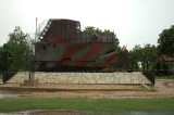 LTTE tank that was stopped by the army is now a war memorial!